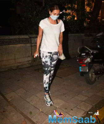Malaika Arora keeps it casual yet stylish as she steps out in the city