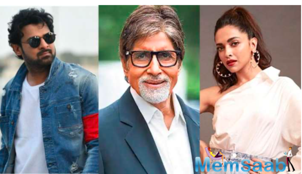 Awesome Threesome! Amitabh Bachchan joins Deepika Padukone and Prabhas in Nag Ashwin's multilingual film