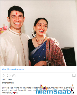 Celebrities and fans poured in wishes for the couple in the comment box.