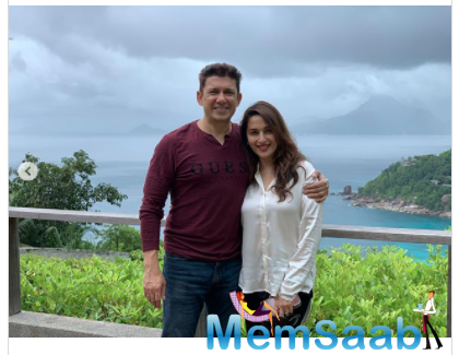 Madhuri Dixit pens note for Hubby Sriram Nene on their Wedding Anniversary: We are so different yet so alike
