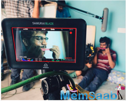 Trapped, about a man who is stuck inside his own house and battles adversities to survive in the hostile condition, featured Rajkummar Rao licking a condom in one of the scenes.