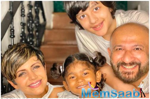 Mandira Bedi adopts a four-year-old; welcomes Tara Bedi Kaushal to her family