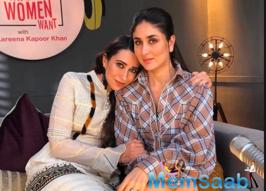 Kareena Kapoor Khan flaunts her baby bump as she gears up for a shoot with Sister Karisma Kapoor