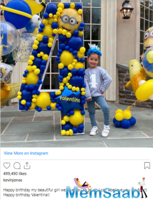 Priyanka Chopra' adorable birthday wish for niece Valentina is all things love