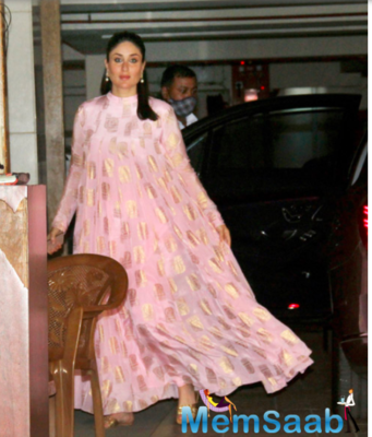 Kareena Kapoor Khan's breezy outfit is an interesting addition to her maternity closet