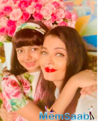 Aishwarya has now given a sneak peek into her mini birthday celebration on Instagram.