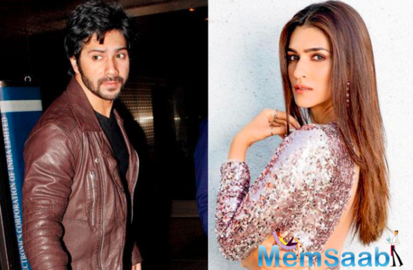 Kriti Sanon to play the female lead in Varun Dhawan-Starrer Bhediya?
