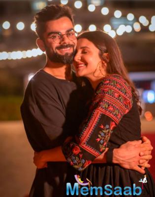 Anushka Sharma shares loved-up pictures from Virat Kohli's 32nd birthday celebrations