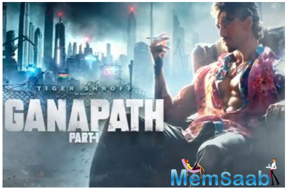 Ganapath first look: Tiger Shroff's Grungy, rugged avatar is unmissable
