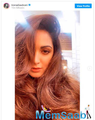 Kiara Advani is having a good hair day and THESE stunning pictures are proof!