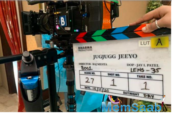 Jug Jug Jiyo: Anil Kapoor, Neetu Kapoor, Varun Dhawan, Kiara Advani begin the shoot