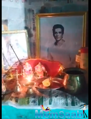 Twitter user places Sonu Sood's photo in his home temple; actor says, 'my place is in your heart'
