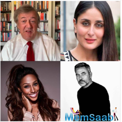 The celebrity readers include actor-writer Stephen Fry, comedian and TV personality David Williams and singer-songwriter Alexandra Burke.
