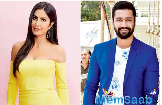 Vicky Kaushal and Katrina Kaif attend Karan Johar's Party at his home
