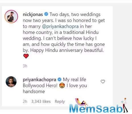 Priyanka Chopra calls Nick Jonas her