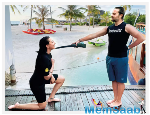 Sonakshi Sinha: I love being in the ocean, but this time I wanted to take it a notch higher