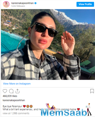 The 40-year-old actor's best friend and Bollywood diva Malaika Arora who was also a part of the vacation commented on the post and said,