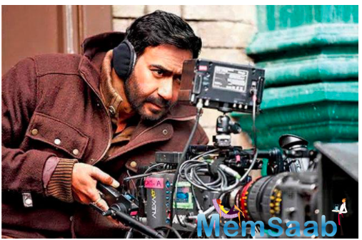 Mayday: Ajay Devgn's double duty begins