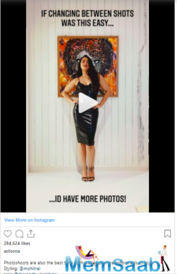 Sonakshi Sinha, too, participated in a shoot recently and looked stunning.