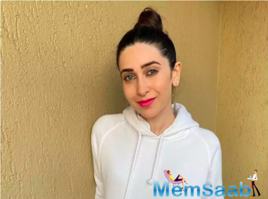 It was a special Xmas for Karisma Kapoor