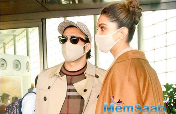 Year-End Break: Ranveer Singh and Deepika Padukone jet off to Jaipur