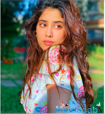 Janhvi Kapoor makes a colourful style statement soaking up the sun