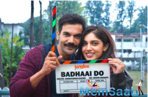 Bhumi Pednekar and Rajkummar Rao's Badhaai Do goes on floors