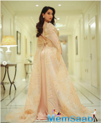 Nora Fatehi makes a noteworthy fashion statement in shades of white