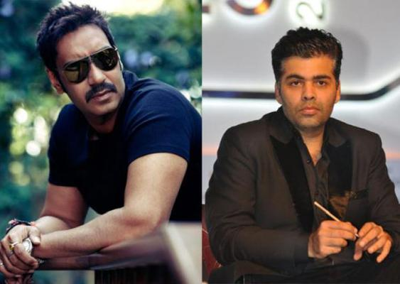 Accusation on peak. Ajay Devgan's  allegation holds a steamy war with Karan Johar on twitter.