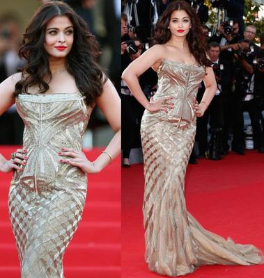 Ash Glitters at Cannes!