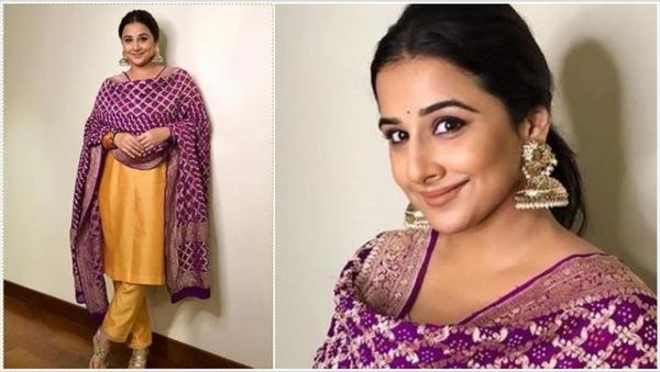 Guess Which Actor Vidya Wants to Spy On!