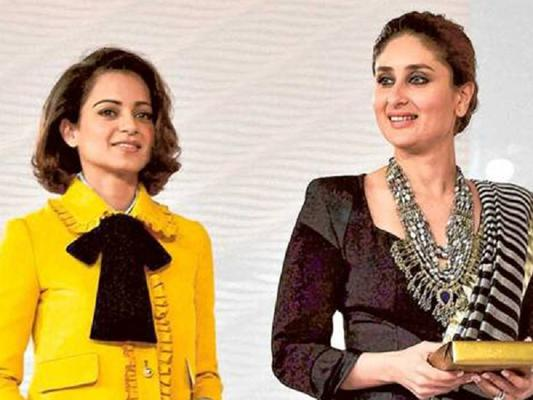 Kangana & Kareena - Mutual Admiration Club!