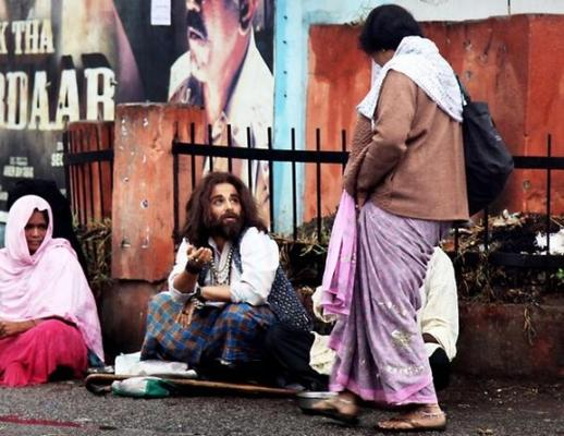 Recognize The Beggar?