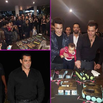 Mouni, Lulia & Sangeeta - Salman Celebrates Birthday With His Favorite Gals!