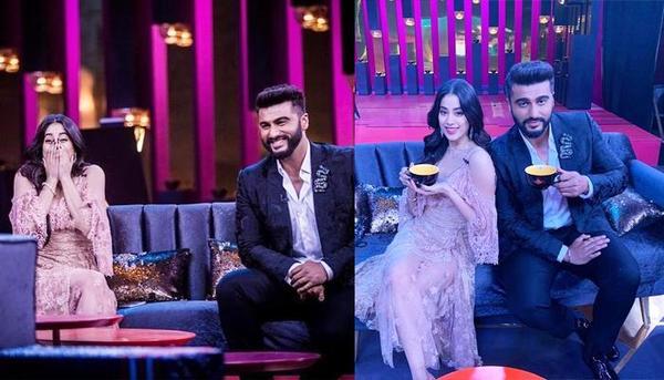 Arjun Kapoor Talks About Jahnvi's Boyfriend on Koffee!!!