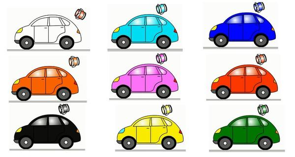 Did You Know the Colour of Your Car Affects Safety???