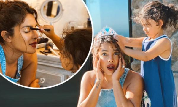 Guess Who Gave Priyanka Chopra Jonas a Princess Makeover?
