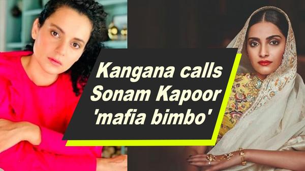 Who is the Mafia Bimbo Kangana Tweeted About?