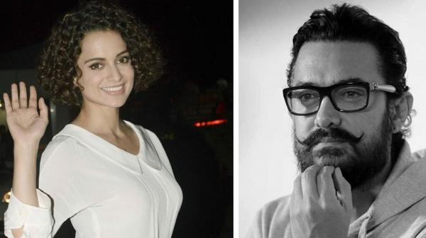 Kangana Ranaut is Keen to Work with Aamir Khan