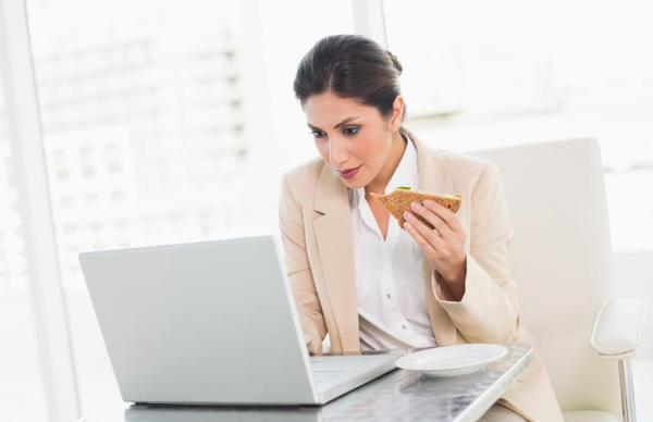 Eating at Your Desk is Bad!