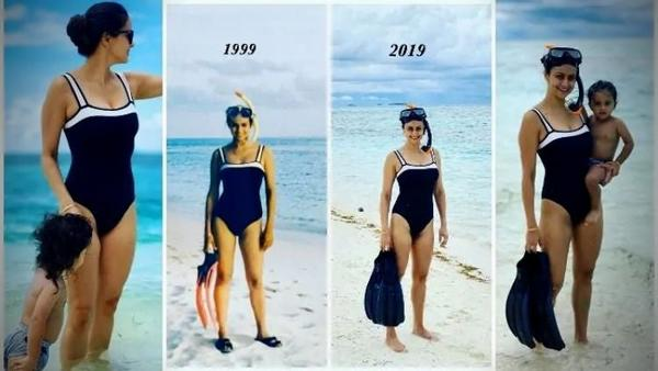 Weight Loss Goals - Gul Panag Can Fit Into a 20 Year Old Swimsuit, Can You?