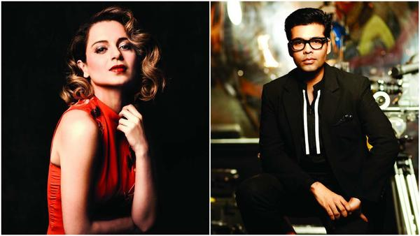 Karan Johar Invites Kangana to His Show Again - Expect Fireworks?