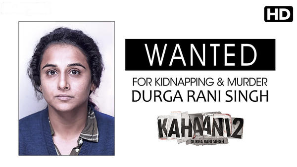 Vidya Is Wanted for Kidnapping and Murder!!!