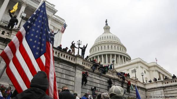 Riot in Capitol Hill - What Happened to Democracy?