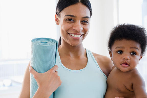 Fitness and Weight-Loss Tips for New Moms