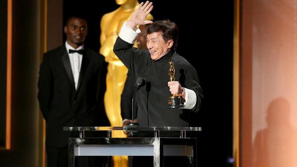 Jackie Chan Finally Gets an Oscar!!
