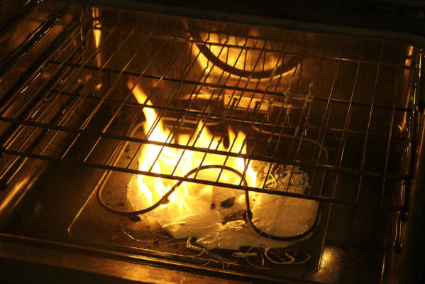 What to Do if Your Oven Catches Fire???