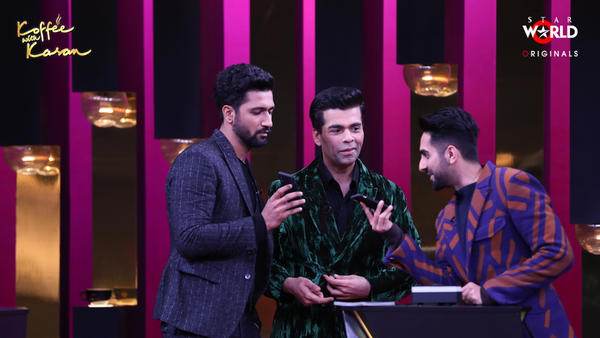 Vicky Kaushal & Ayushmann Khurrana Make Their Koffee Debut!