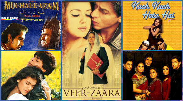 Top 5 Romantic Films of Bollywood.