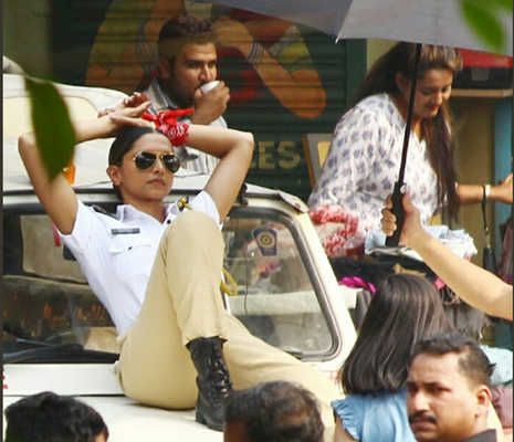 Why is Deepika Dressed as a Cop?